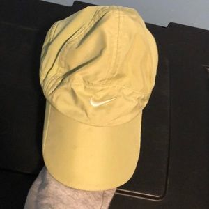 Green nike baseball cap